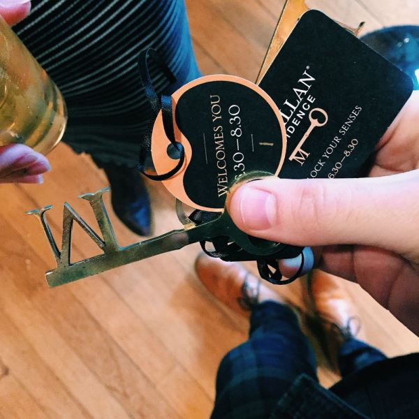 The Macallan Residence Keys