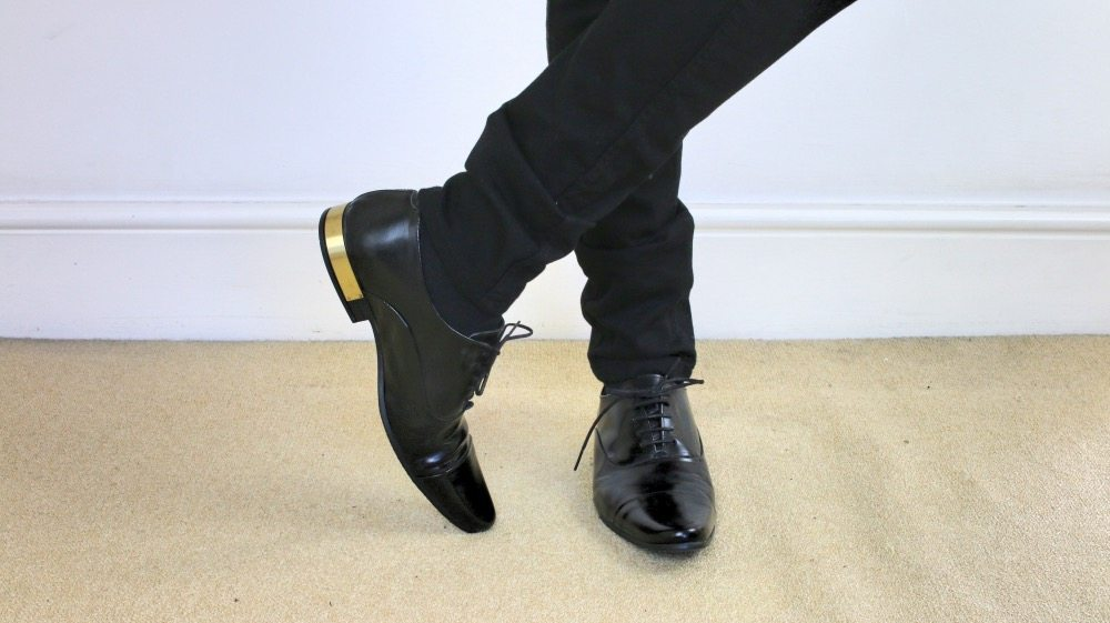 Mens-Shoe-Collection-ASOS-Black-Patent-Gold-Heel-Oxford-Shoes