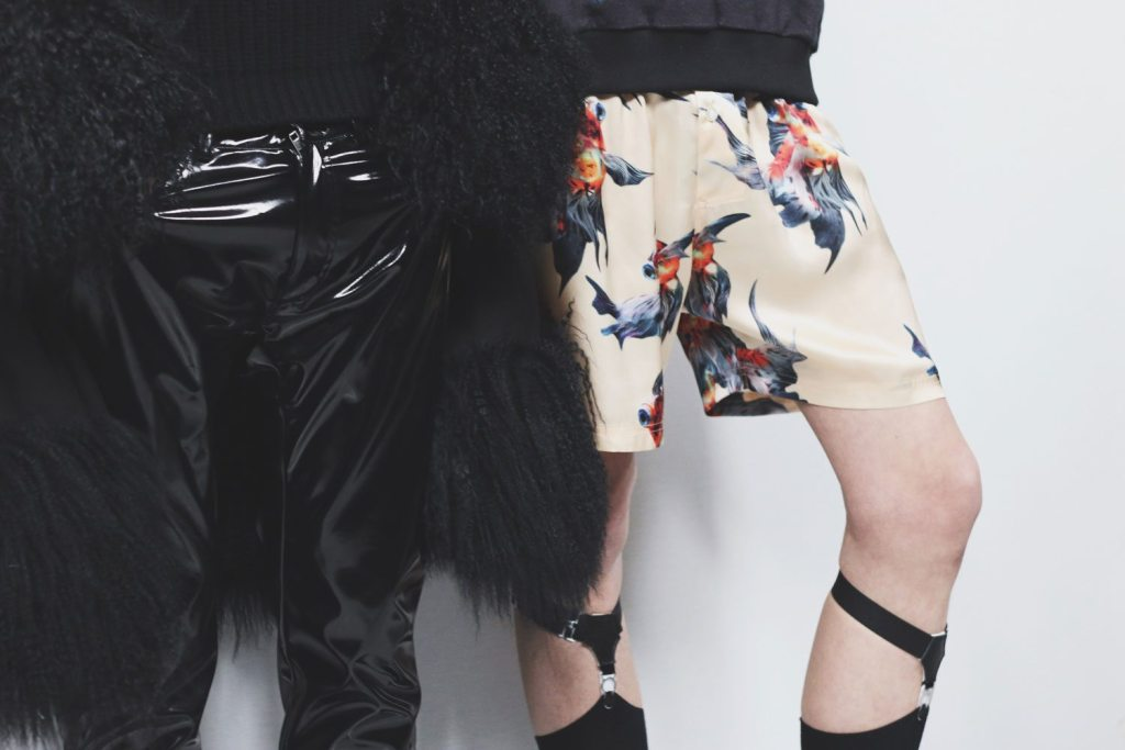 Katie-Eary-Leather-Shorts-LCM-AW16-Man-For-Himself_2416
