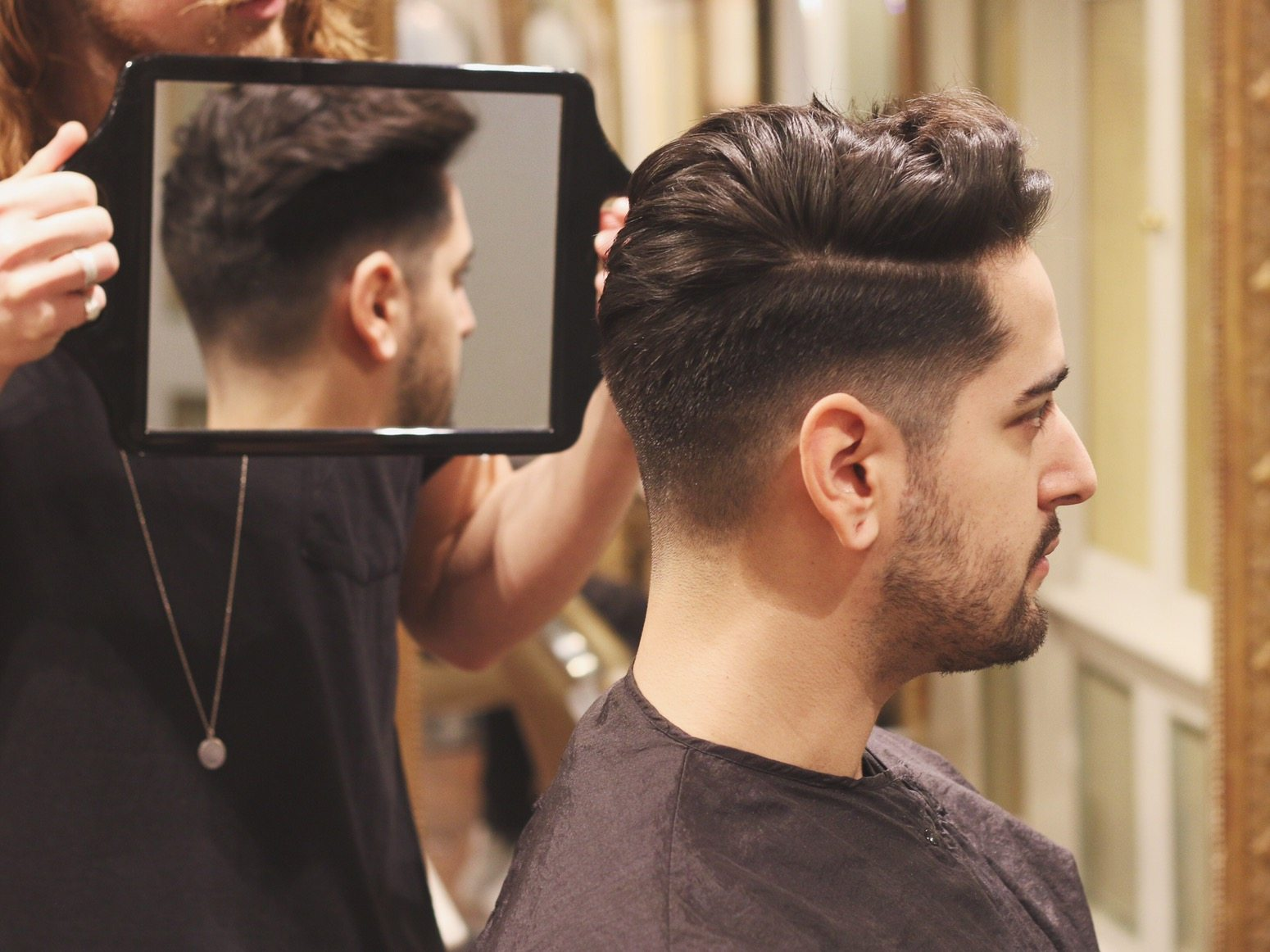 Mens Haircut And Style Undercut Quiff - Undercut hairstyle explained