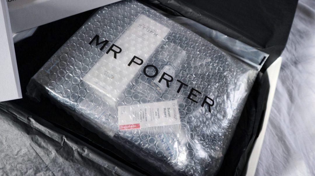 Mr Porter men's Christmas grooming box