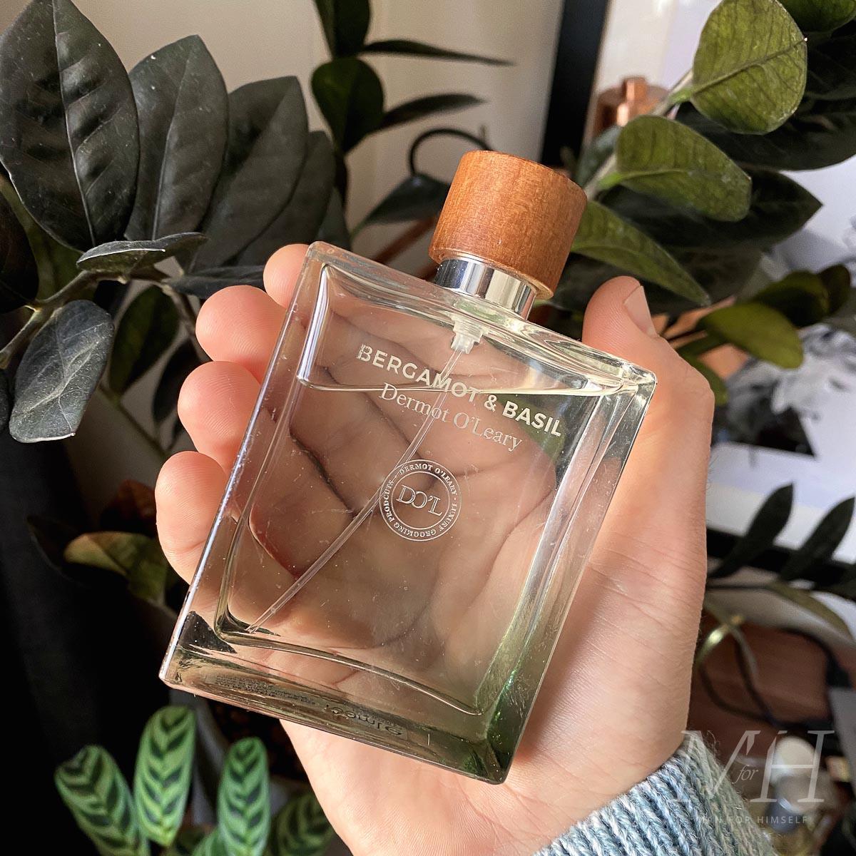 dermot-oleary-fragrance-bergamot-basil-product-review