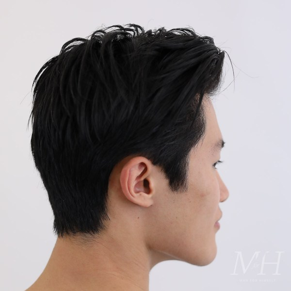 Haircut For Thick Asian Hair Man For Himself