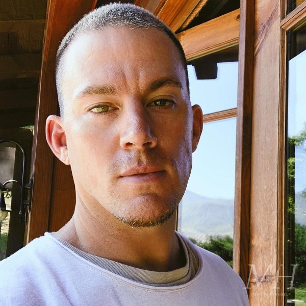 Channing Tatum: Classic Buzz Cut Hairstyle