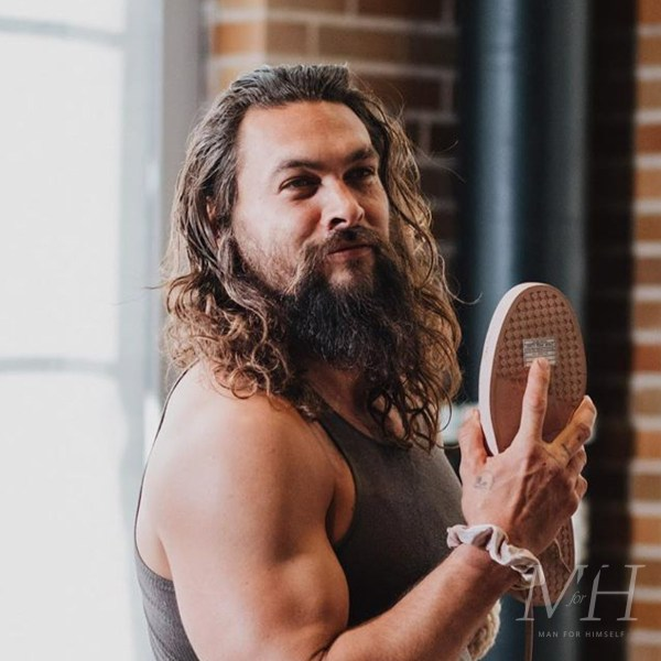 Jason Momoa: Long Hair With Ombre Dye