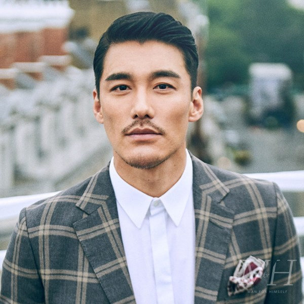 Hu Bing: Formal Sleek Hairstyle