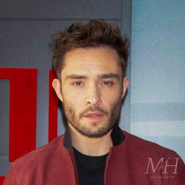 Ed Westwick: Short Textured Hairstyle