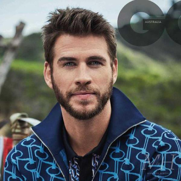 Liam Hemsworth: Square Shaped Scissor Cut With Quiff