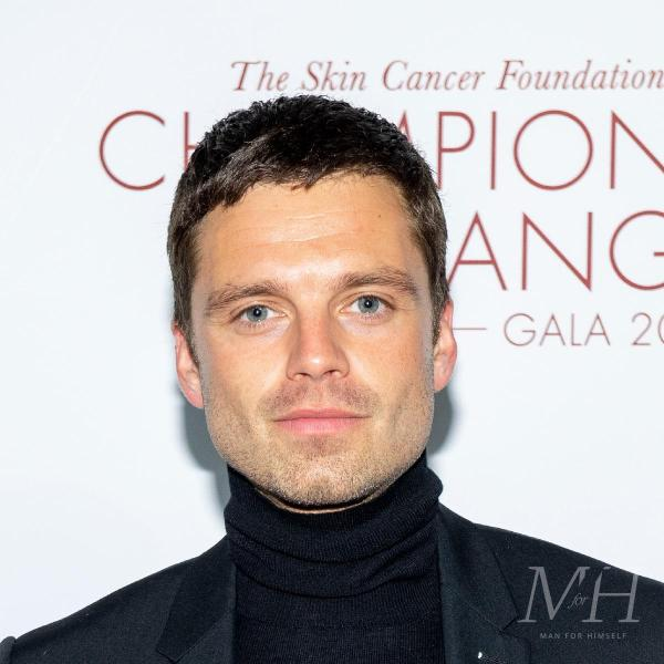 Sebastian Stan: Short Taper Hairstyle With Cropped Fringe