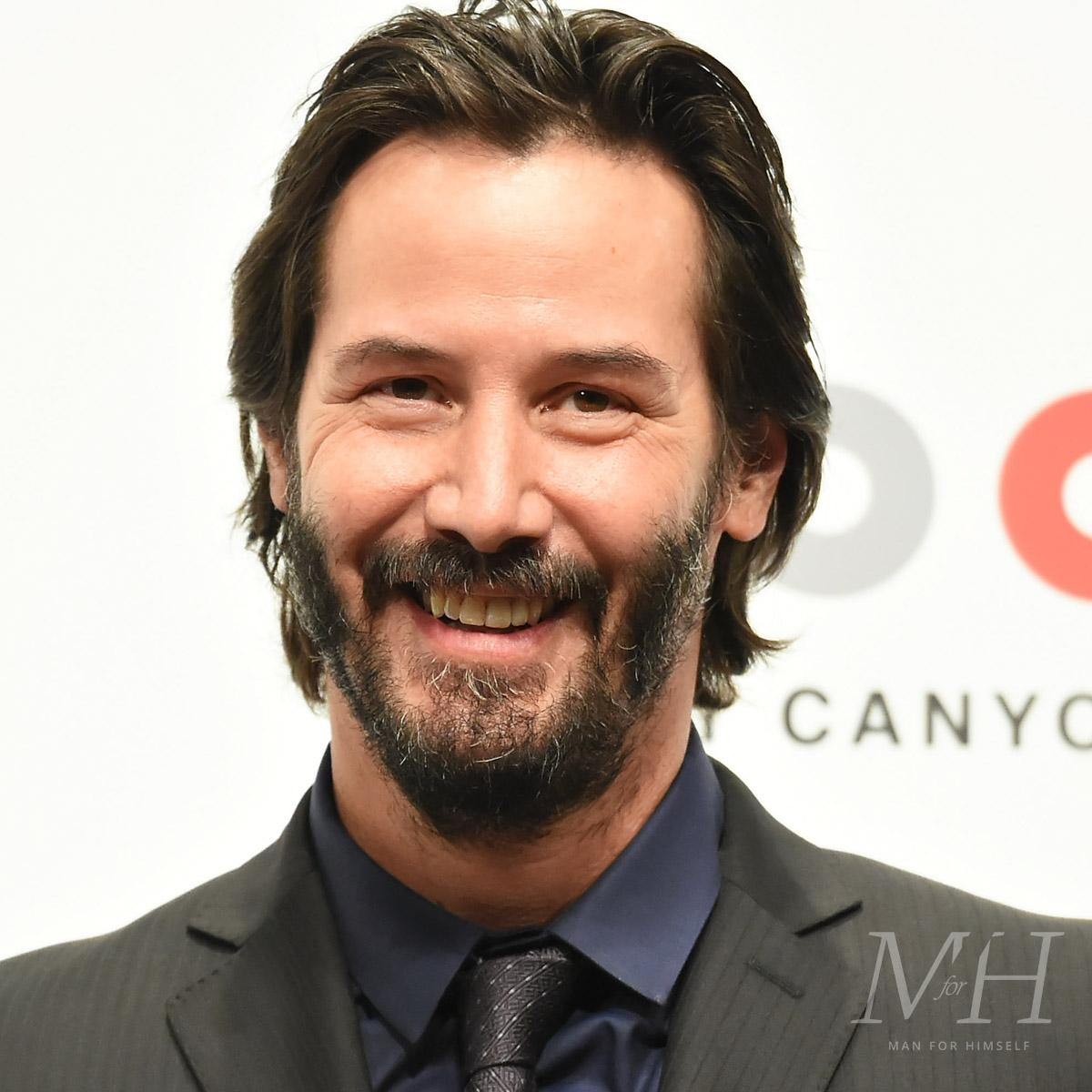 Keanu Reeves Beard