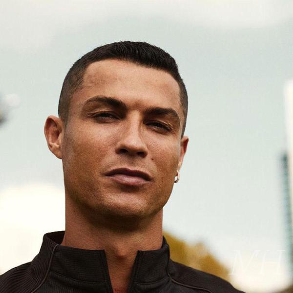 Cristiano Ronaldo: Classic Buzz Cut Hairstyle