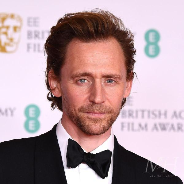 Tom Hiddleston: Swept Back Hairstyle