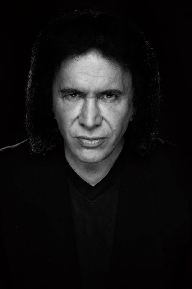 Gene Simmons by Manfred Baumann
