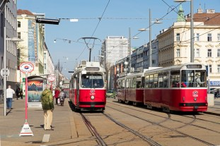 4301-c5 Linie 6 u 1508-E2 Linie 71 Simmering 3-17-2