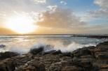 Meer und Sonnenuntergang El CotilloDez 16-1-2