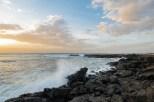Meer und Sonnenuntergang El CotilloDez 16-3-2