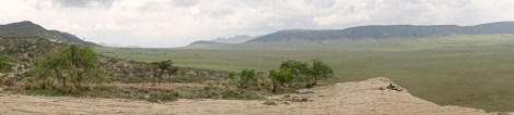 Pamorama v nasera Rock in Ngorongoro Area 2017-1-2