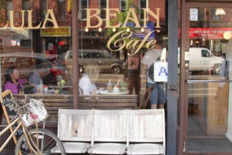 Exterior view of Lula Bean Cafe