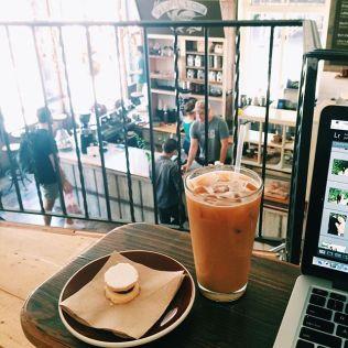 Swallow Cafe Tripoli mini tables photo by Julia Elizabeth