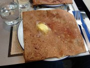 Ham and Cheese Buckwheat Crepe