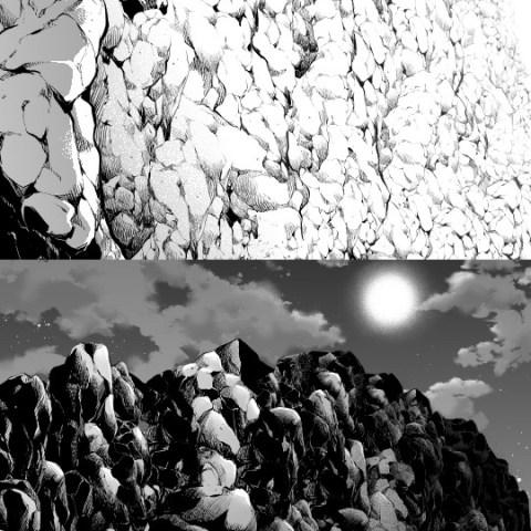 岩壁白黒サムネ