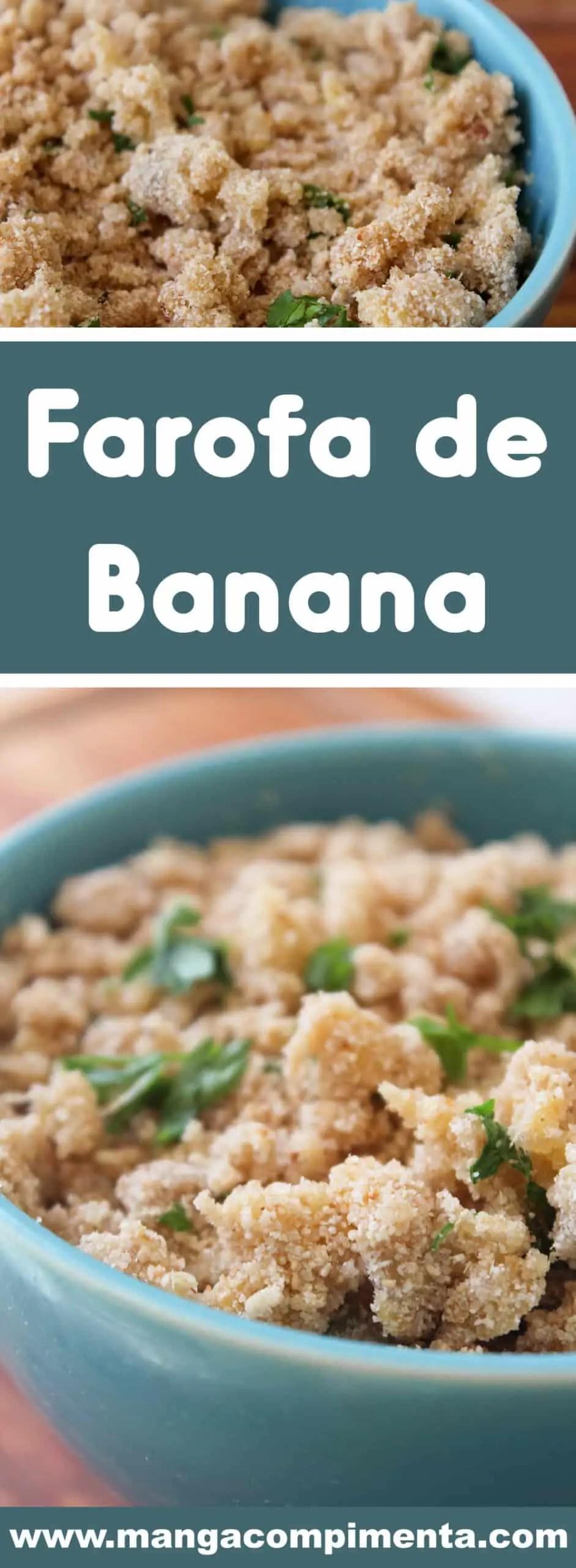 Receita de Farofa de Banana - um acompanhamento delicioso para o Peru de Natal!