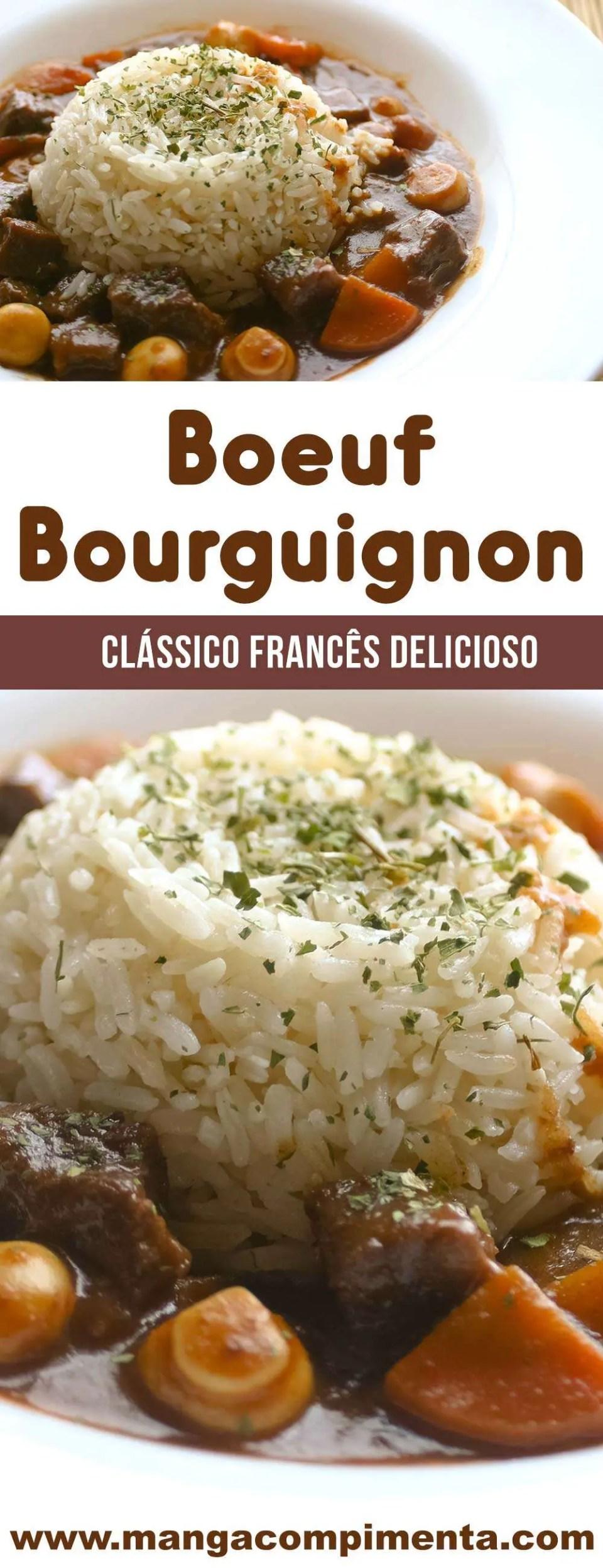 Boeuf Bourguignon - um clássico francês delicioso para fazer na sua casa!