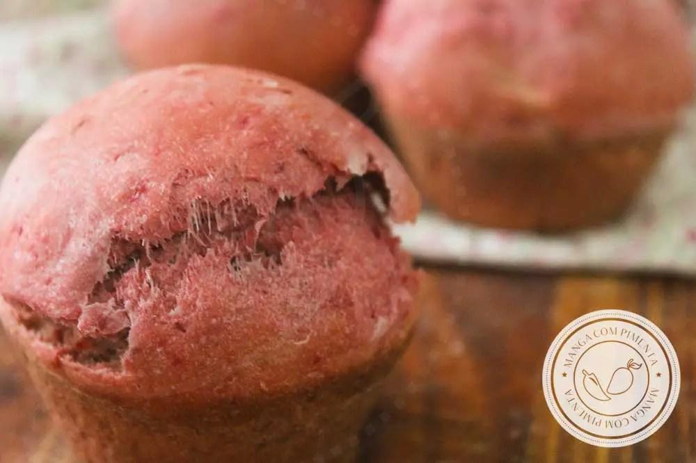 Receita de Pão de Beterraba - para um lanche colorido e nutritivo, prepare para o lanche da família!