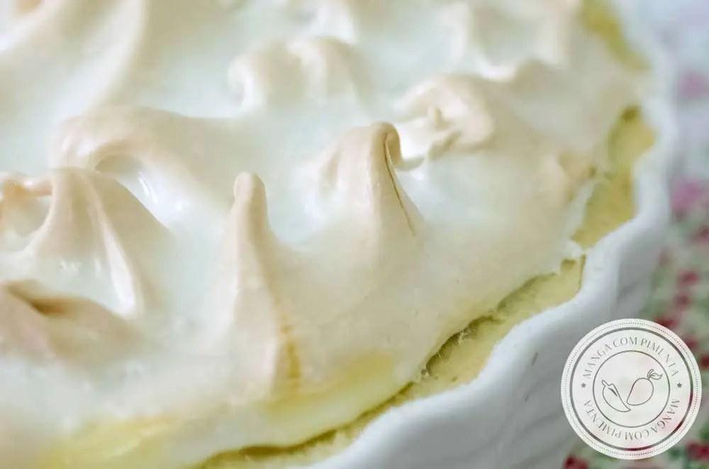 Torta de Limão - Uma sobremesa deliciosa para toda a família!