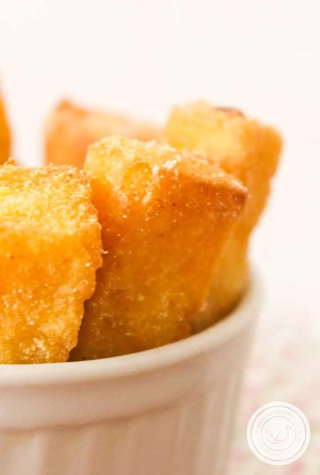 Receita de Polenta Frita - prepare para o almoço de domingo ou para petiscar.