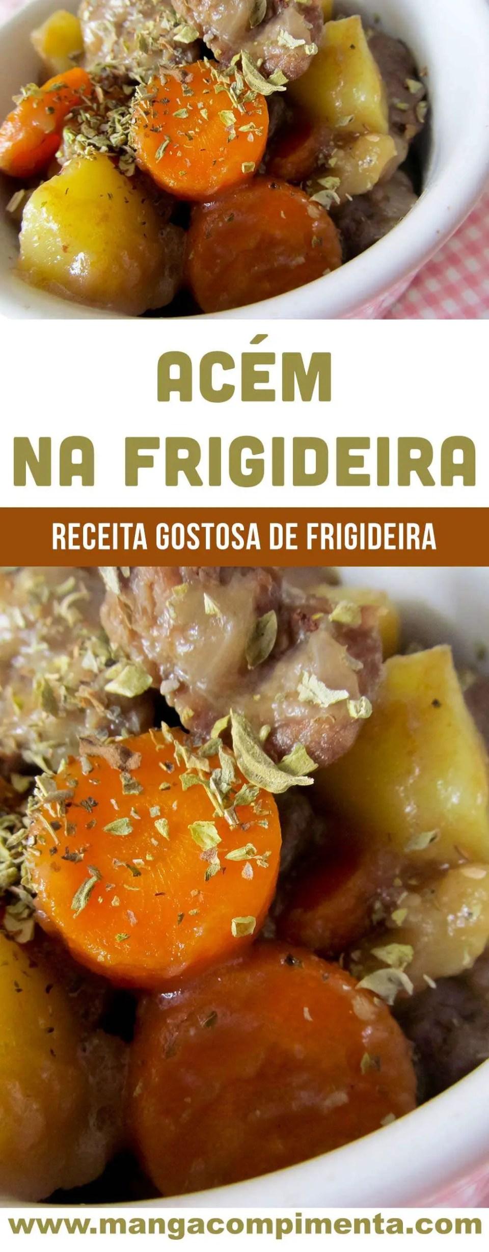 Acém na Frigideira - um prato gostoso para o dia a dia!