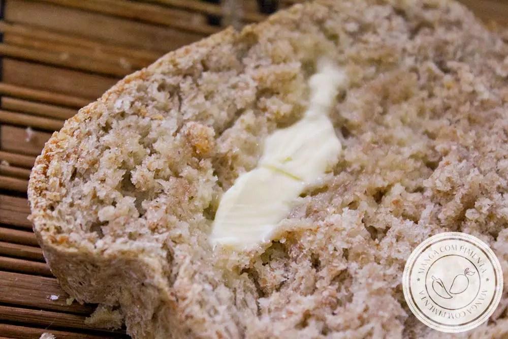 Pão Integral - uma deliciosa para o café da manhã ou lanche da tarde!