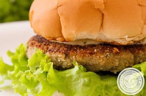Hambúrguer de Berinjela - Para um lanche vegetariano cheio de sabor!