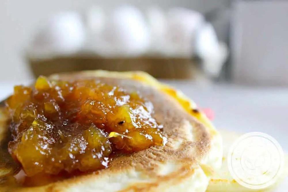 Geleia de Abacaxi com Gengibre - para um café da manhã especial!