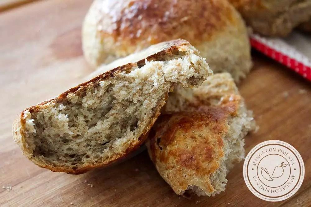 Receita de Pão Integral de Batata Doce - para um café da manhã ou lanche da tarde mais saudável.