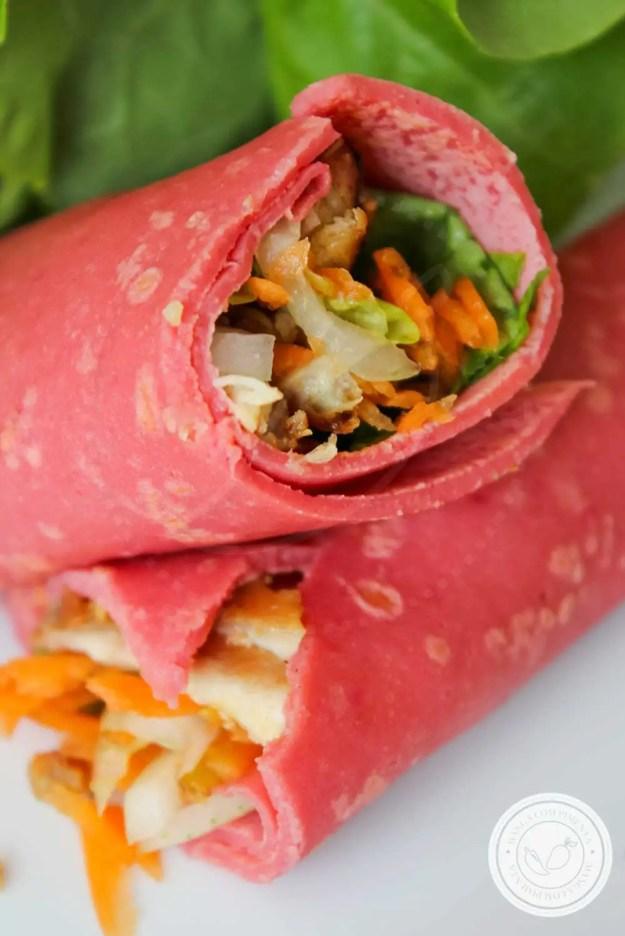 Receita de Massa de Panqueca de Beterraba - uma cor linda e apetitosa para o seu prato!
