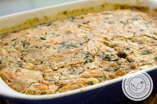 Torta Integral de Espinafre - um lanche nutritivo para todo mundo!
