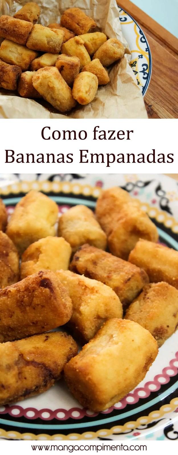 Aprenda a fazer Bananas Empanadas em casa - com direito a vídeo do Youtube