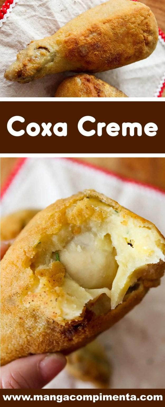 Receita de Coxa Creme - prepare um lanche de boteco delicioso na sua casa.