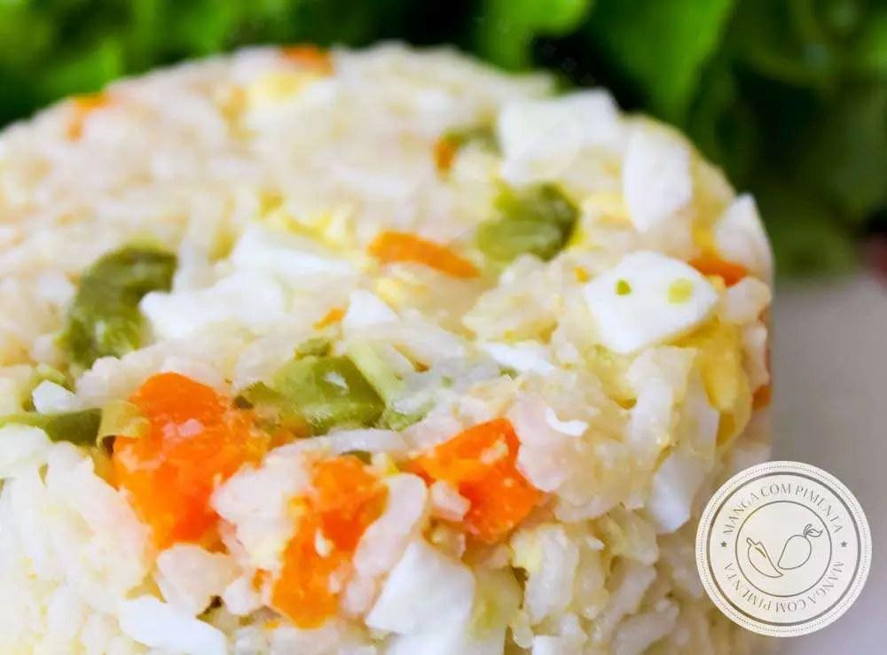 Arroz Mexidinho com Ovo - para o almoço do dia a dia, com muito sabor!