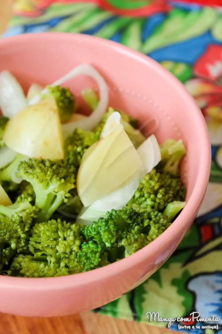 Salada de Brócolis e Batata