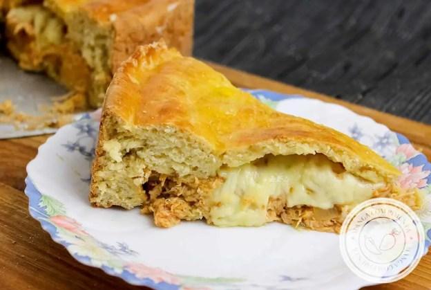Receita de Pastelão de Frango - um lanche clássico e delicioso para o final de semana