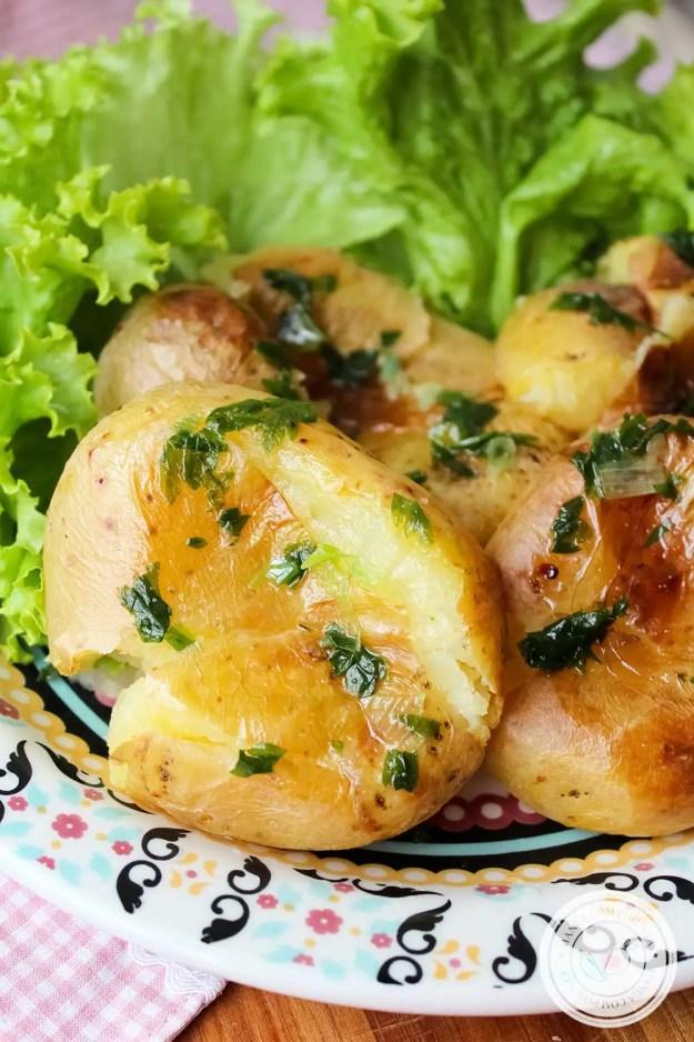Receita de Batata ao Murro - prepare em dia de festa, principalmente no Natal e Ano Novo!