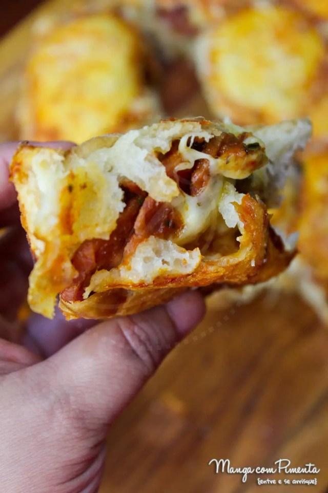 Pizza Bites - Bolinhas de Pizza - Receita Americana