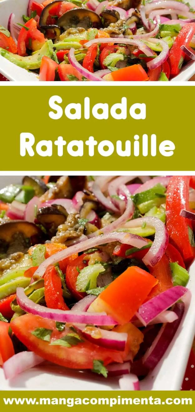 Receita de Salada Ratatouille - comidinhas do bem para o verão!