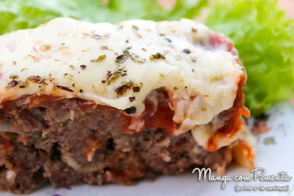 Bolo de Carne Italiano