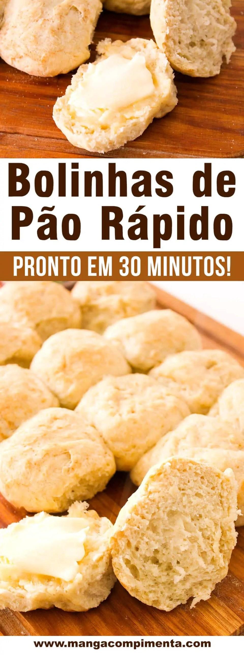 Bolinhas de Pão Rápido -Pronto em 30 minutos para o seu lanche da tarde!