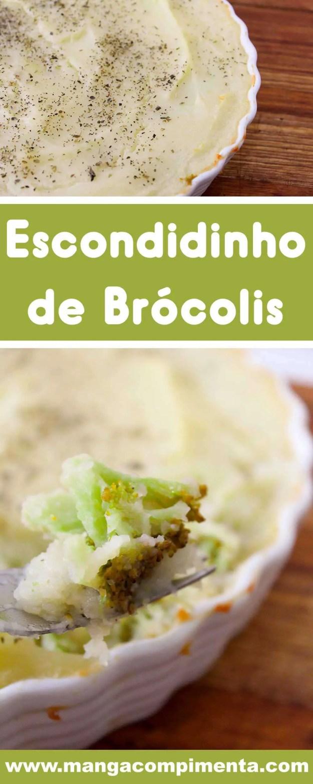 Receita de Escondidinho de Brócolis - prepare esse prato delicioso para o almoço da semana.