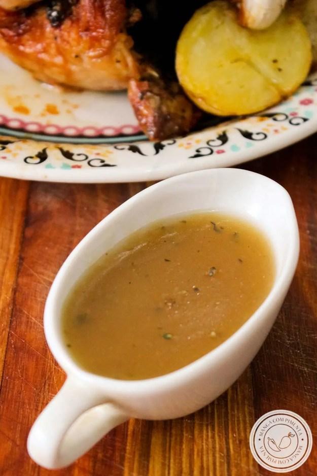 Molho para Frango Assado - perfeito para o almoço do final de semana ou para ceia de final de ano.