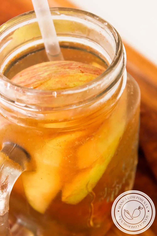 Para refrescar: Água Saborizada de Maçã com Canela | Receitas de Verão